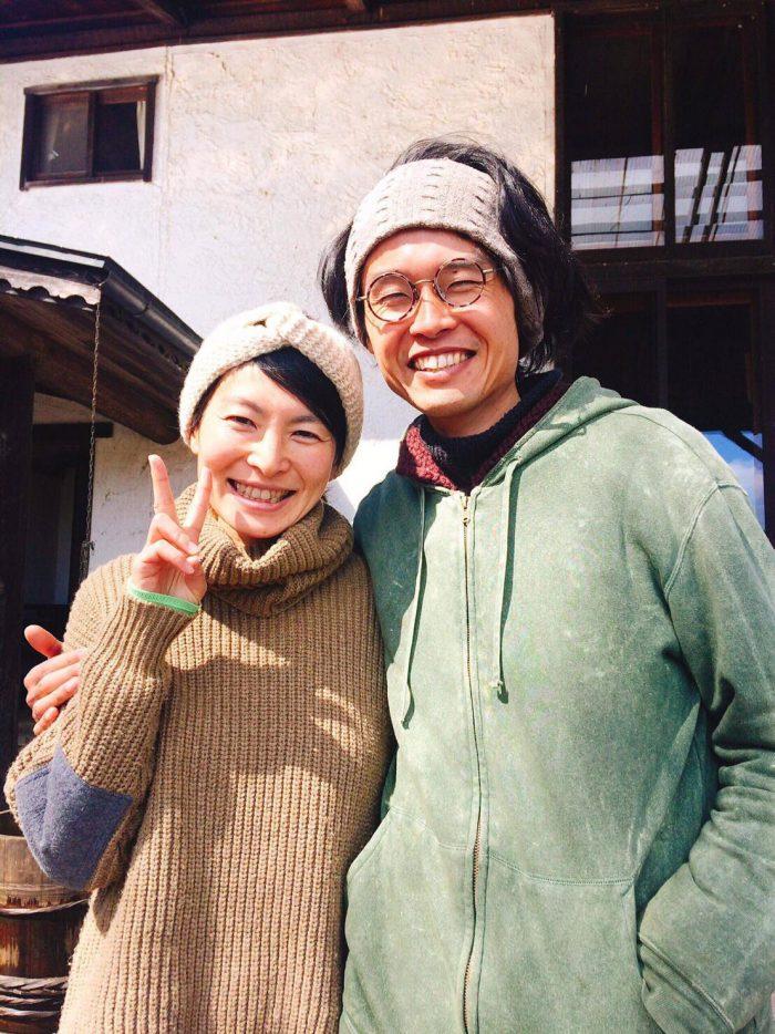 わたしたち山崎夫婦が、みなさんをお迎えいたします。